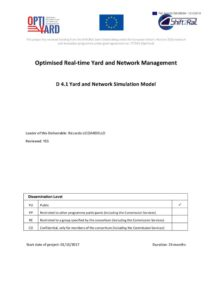 thumbnail of OptiYard Del41 Yard and Network Simulation Model