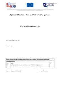 thumbnail of OptiYard Del71 Data Management Plan