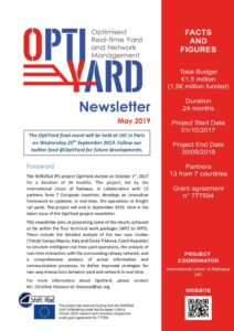 OPTIYARD Newsletter May 2019 Edition