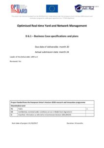 thumbnail of OptiYard Del61 Business Case specifications and plans