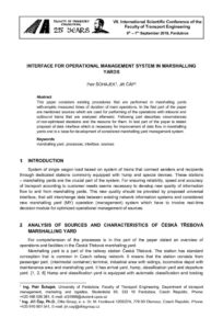 thumbnail of INTERFACE FOR OPERATIONAL MANAGEMENT SYSTEM IN MARSHALLING